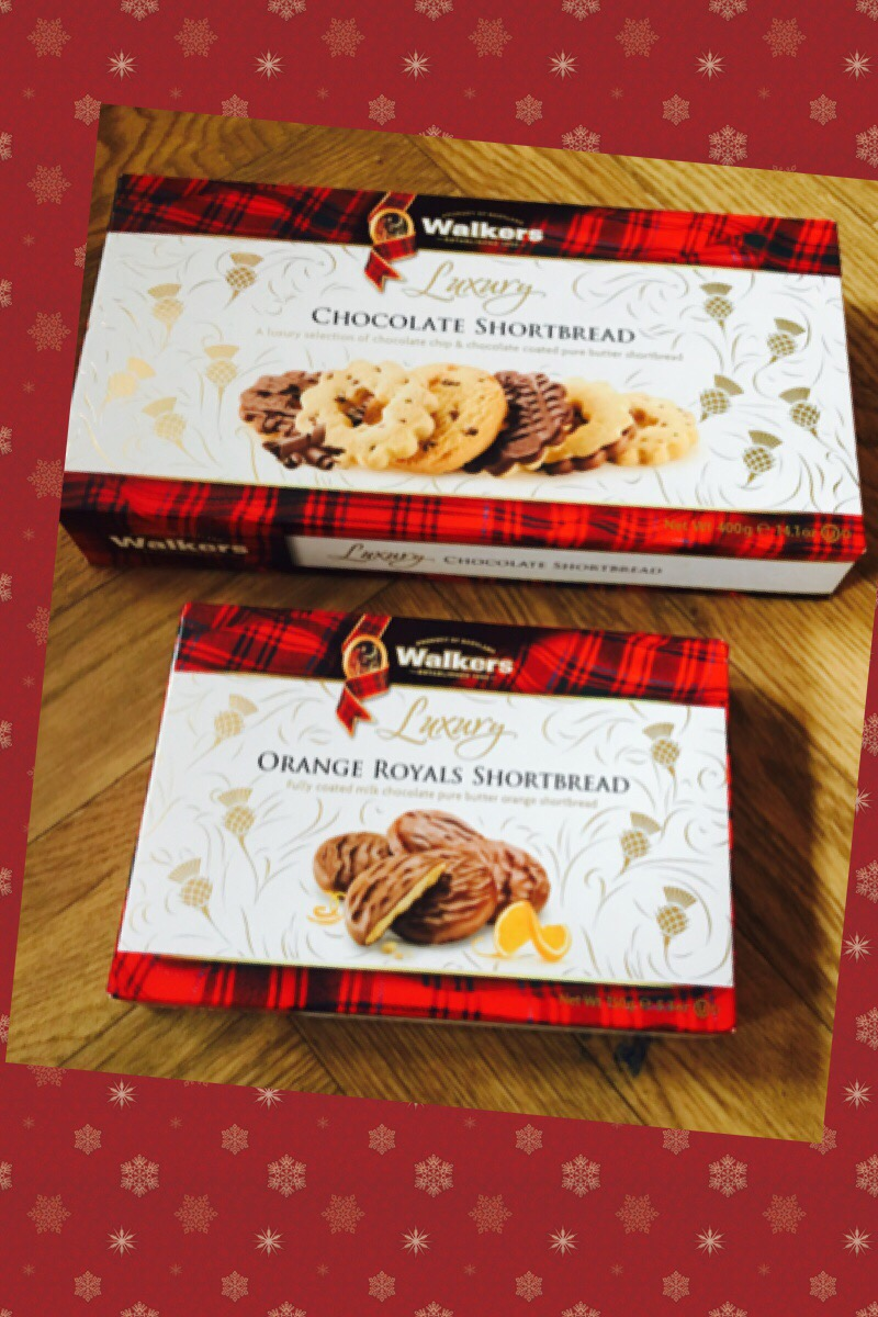Walkers shortbread christmas biscuits gifts